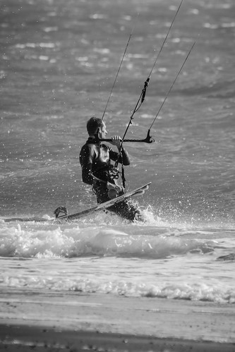 Exmouth Kite Surfer