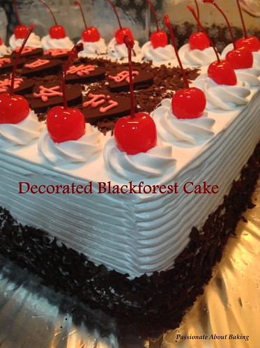 Blackforest Birthday Cake Passionate About Baking