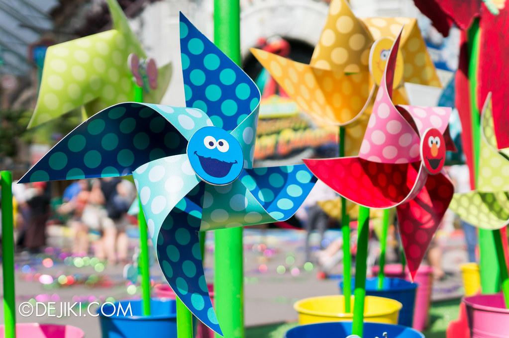 Mini Sesame Street Pinwheels