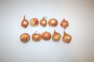 04 - Zutat Perlzwiebeln / Ingredient pearl onions