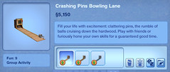 Crashing Pins Bowling Lane