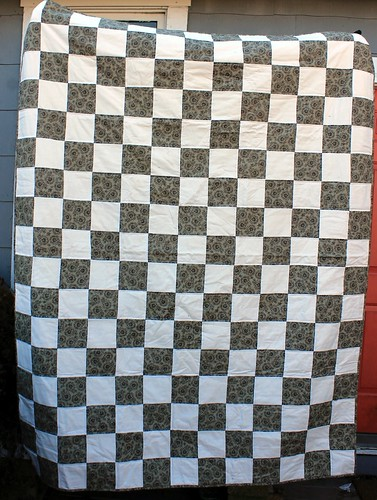 Checkerboard Signature Quilt