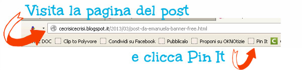 pinterest, pagina post da pinnare