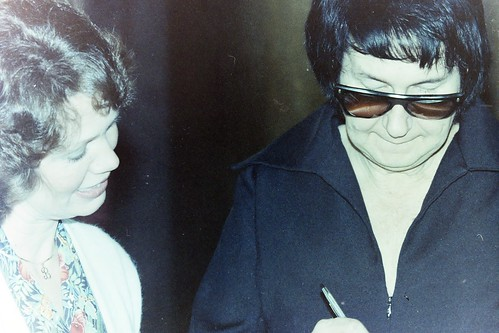 Roy Orbison with my late wife Breverly in 1984 -  -  PICT0012_filtered
