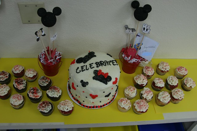 mickey mouse baby shower cake flickr photo sharing