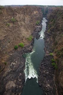 Billede af Zipline. river zimbabwe victoriafalls zipline 5star zambezi canonef24105mmf4lis victoriafallsbridge