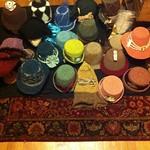 Daily progress shot of the Hat Cave - in prep for Jane Austen Fest 2013. #HatterAtLarge