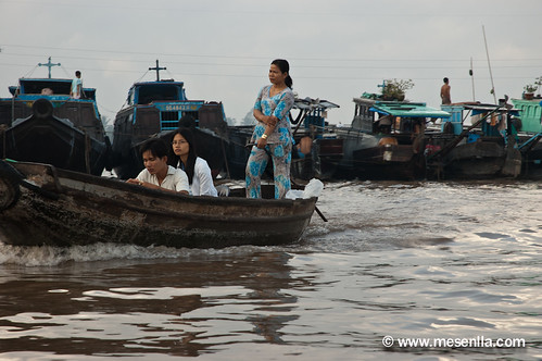 Mercat flotant al Mekong