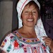 Enriqueta con reboso y blusa típica de San Andrés Solaga, Districto Villa Alta, Región Sierra Juárez, Oaxaca, Mexico por Lon&Queta