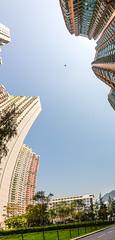 """馬鞍山住宅建築之形 Ma On Shan Residential Architecture Forms"" / 香港全景攝影 Hong Kong Panoramic Photography / SML.20130308.7D.27543-SML.20130308.7D.27554-Pano.02.TransMercator.179x311.4"
