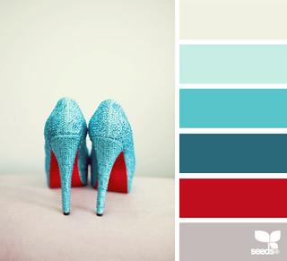 Colour Palette - Sparkled Hues