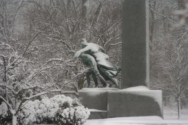 Edgemont Park Memorial ~ Snowday