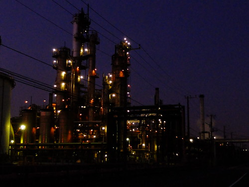 Kawasaki factory night scene 02