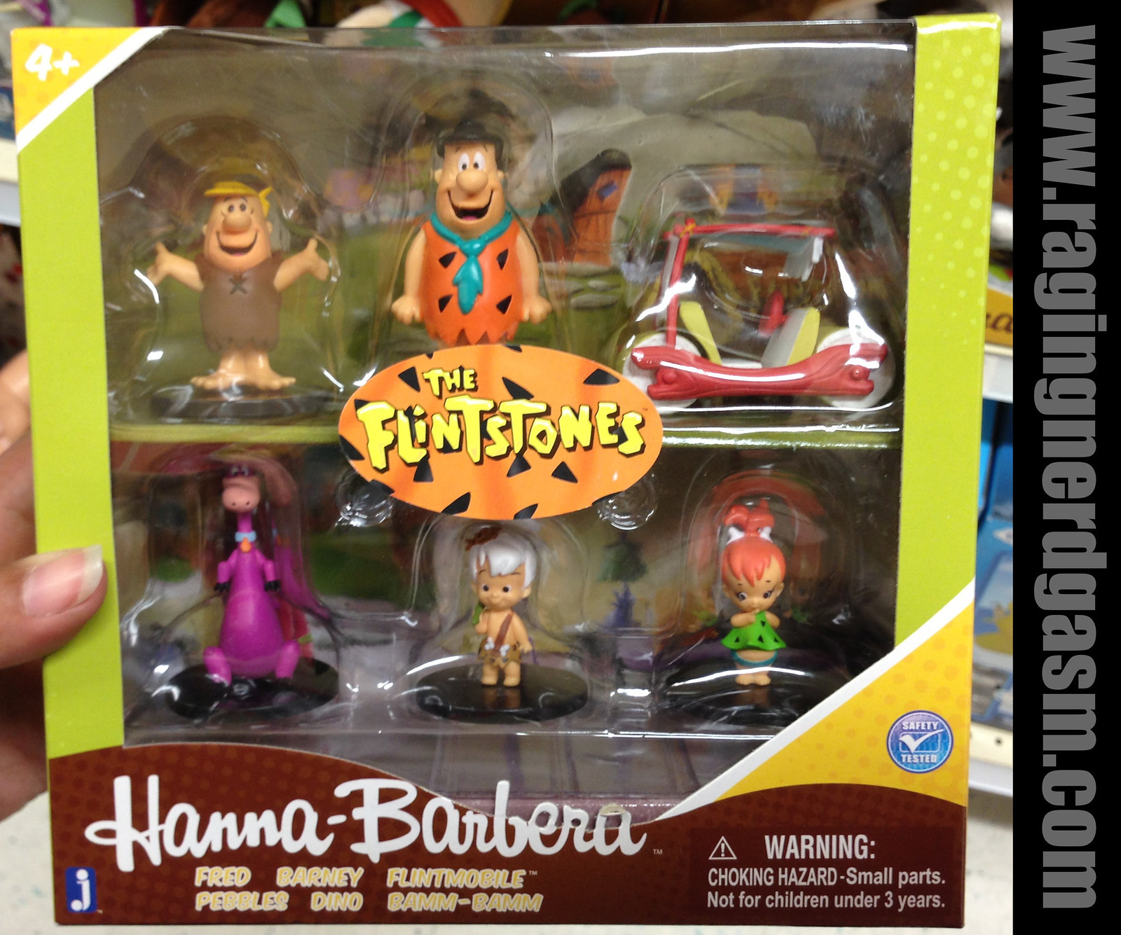 Hanna Barbera The Flinstones Small figurines by Jazwares