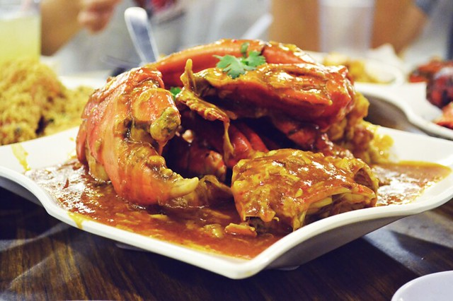 Chilli Crab by CC user freshlydiced on Flickr