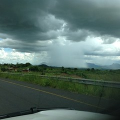Mozambique scattered showers