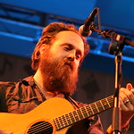 Fri, 15/03/2013 - 2:49pm - Iron & Wine at the Public Radio Rocks Day Stage, SXSW, 3-15-2013. Photo by Laura Fedele
