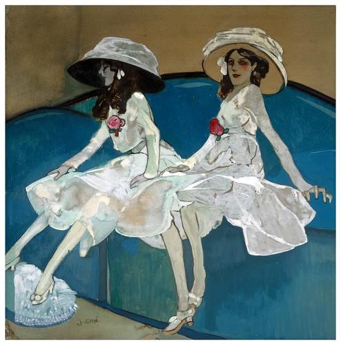 001- Las dos hermanas-1 910- Xavier Gosé - Wikimedia Commons