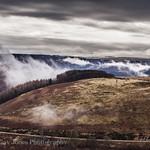 Horseshoe pass North Wales