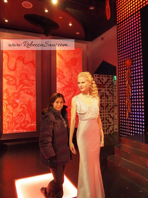 Rebecca saw 1Madame Tussauds in Shanghai - rebecca saw