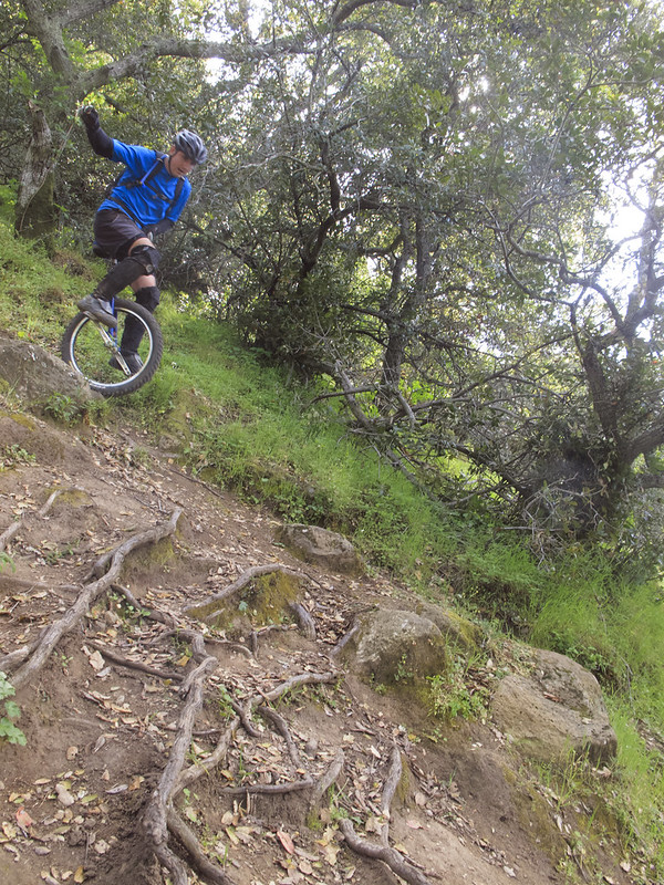 Ricardo finishing Cascade Trail