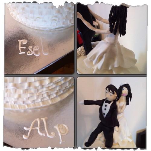 Weddlng cake by l'atelier de ronitte
