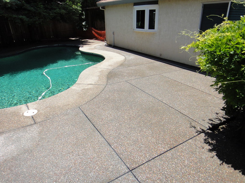 Plum Creek Exposed Aggregate Patio Added To Pool Deck & Plum Creek Exposed Aggregate Patio Added To Pool Deck - Solano ...