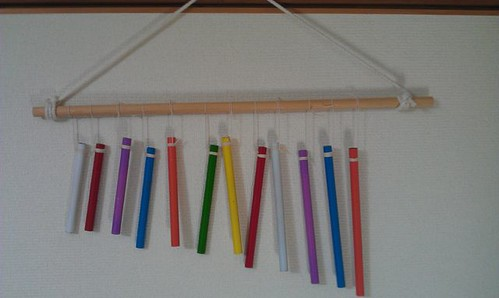 Homemade Wind Chimes, by Kanda Mori