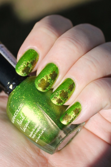 Shamrock Nails