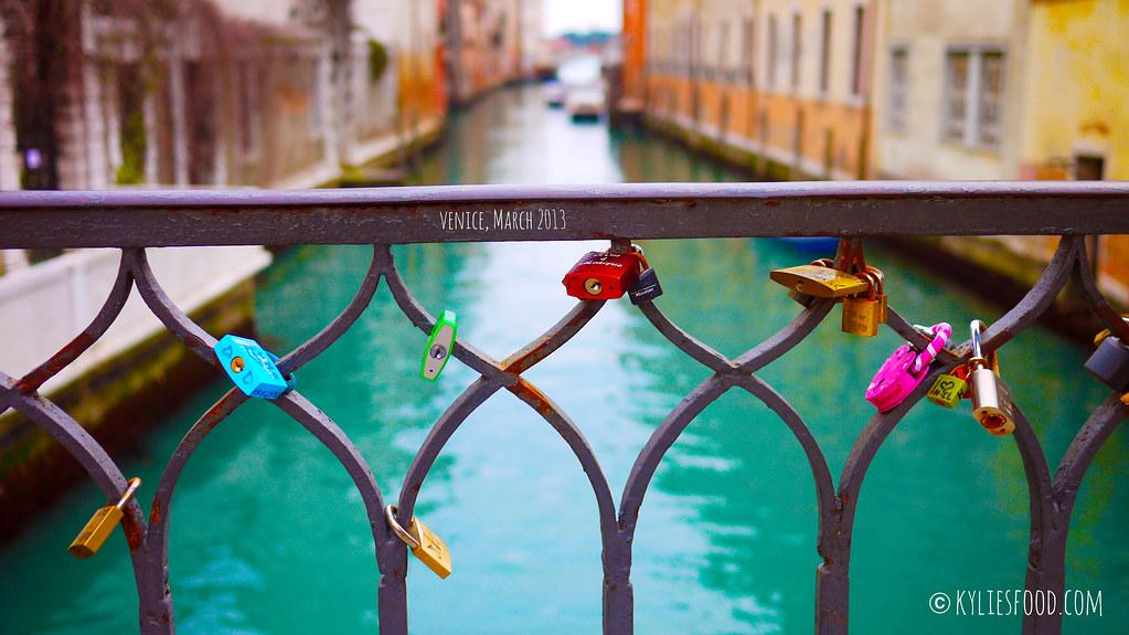 Love Locks in Venice