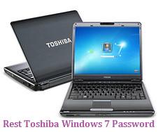 reset toshiba windows 7 password
