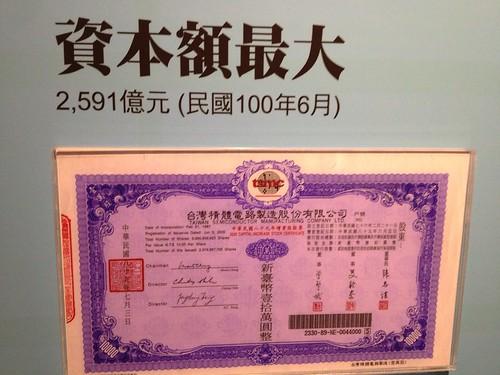 台灣股票資本額最大