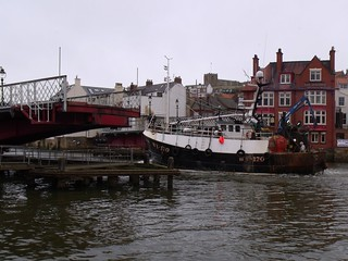 Swing Bridge and Fishing Boat