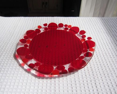 バブルのお皿・・・直径約200㎜ by Poran111