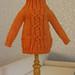 BlytheCon Barcelona 2013 Prizes: Orange knitted jumper by Minami626 by BlytheCon Barcelona