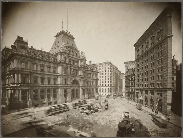 Boston, Massachusetts. Post Office Square