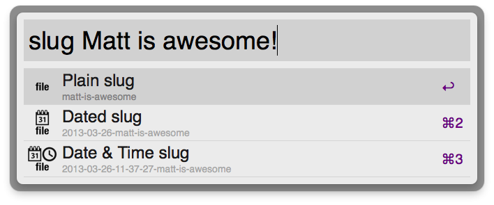 Slugs without file-extensions