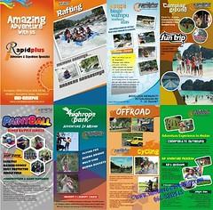 banner(0.0), brochure(1.0), flyer(1.0), advertising(1.0),