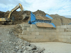 wall, rubble, ruins, demolition, construction, rock, quarry,