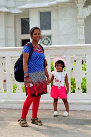 Smita & Rianna - Birla Temple