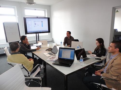 developers meeting at Transparent Inc