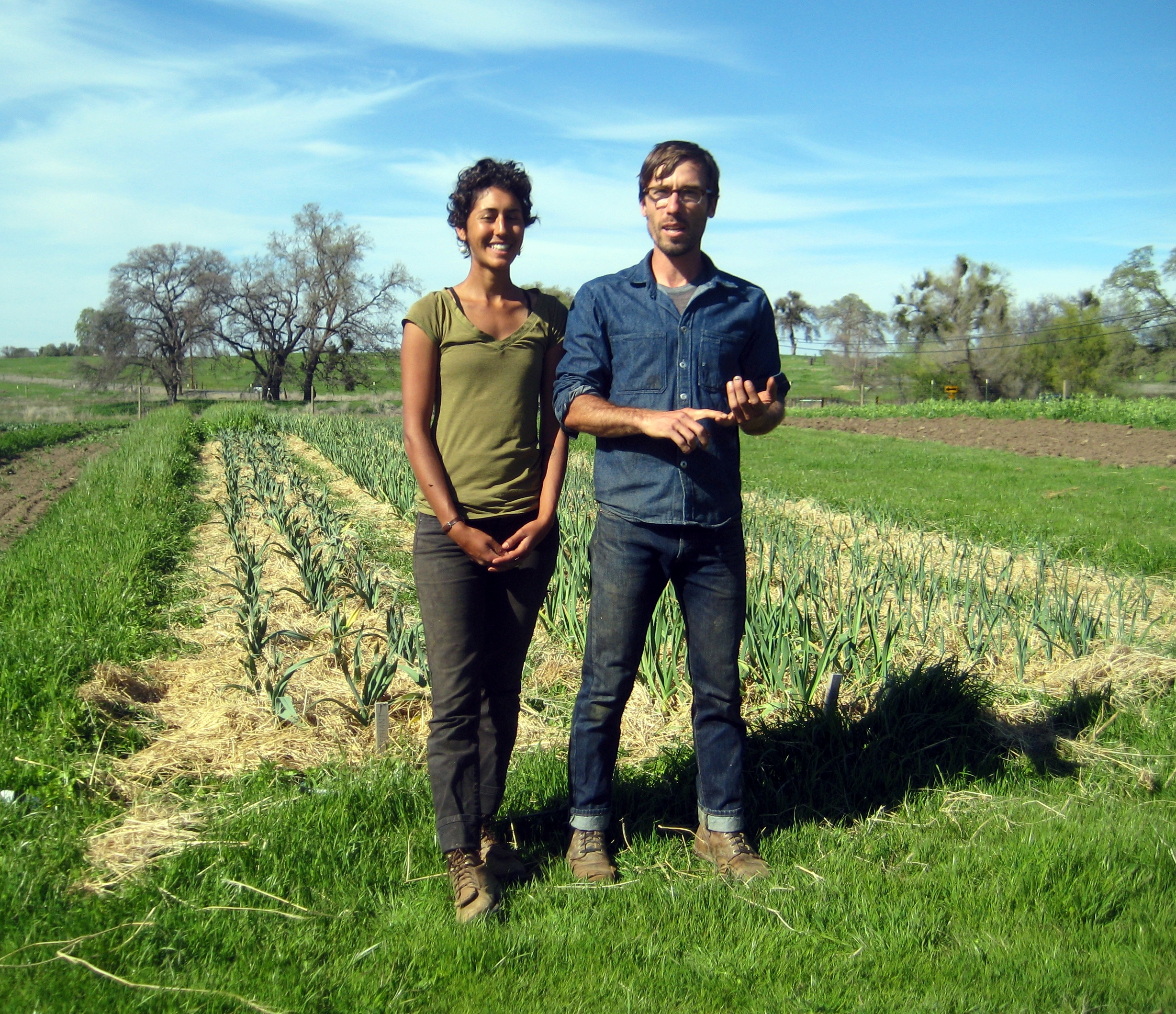 Jackie and Ryan of South Fork Farm