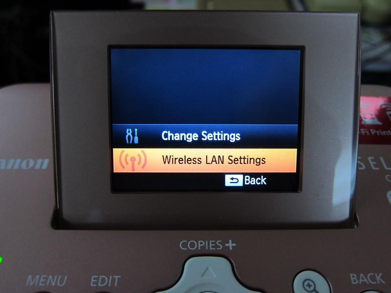 CP900 - Settings Menu
