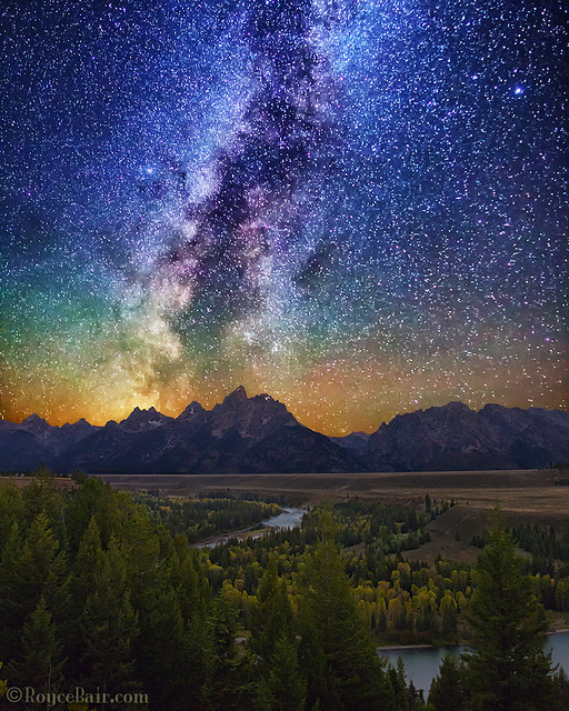 Milky Way Tetons
