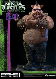 Prime 1 Studio 忍者龜:破影而出【比巴】TMNT: Out of the Shadows Bebop 1/4 比例全身雕像