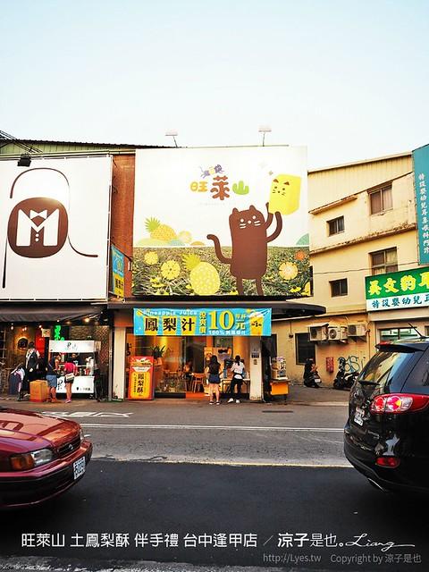 旺萊山 土鳳梨酥 伴手禮 台中逢甲店 48