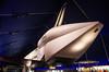 Space Shuttle Enterprise, rear view