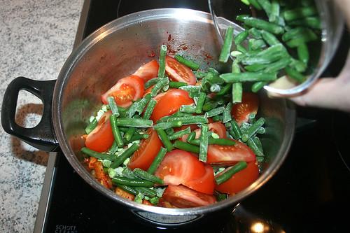 34 - Grüne Bohnen dazugeben / Add green beans