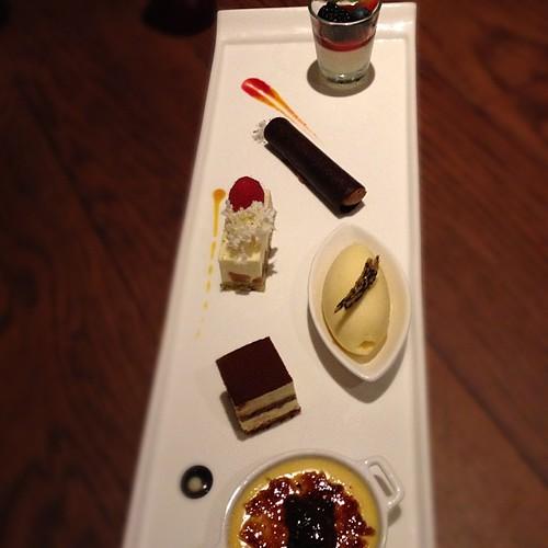 Zafferano's Dessert Platter