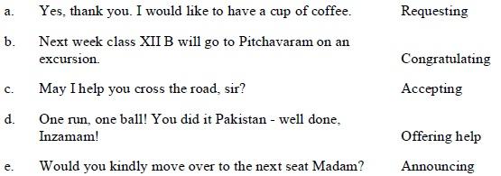 Tamil Nadu State Board Class 12 Model Question Paper - Communicative English